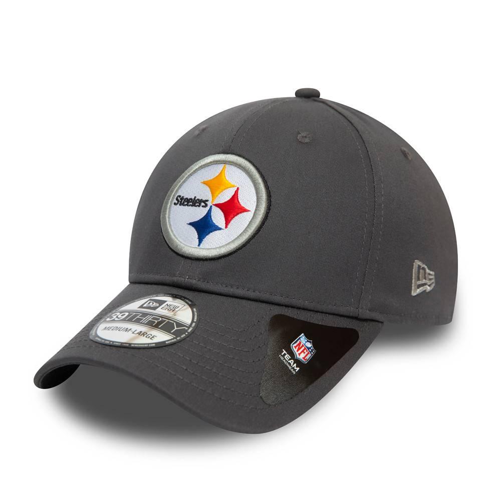 39THIRTY NFL TEAM PITTSBURGH STEELERS GRAPHITE CAP