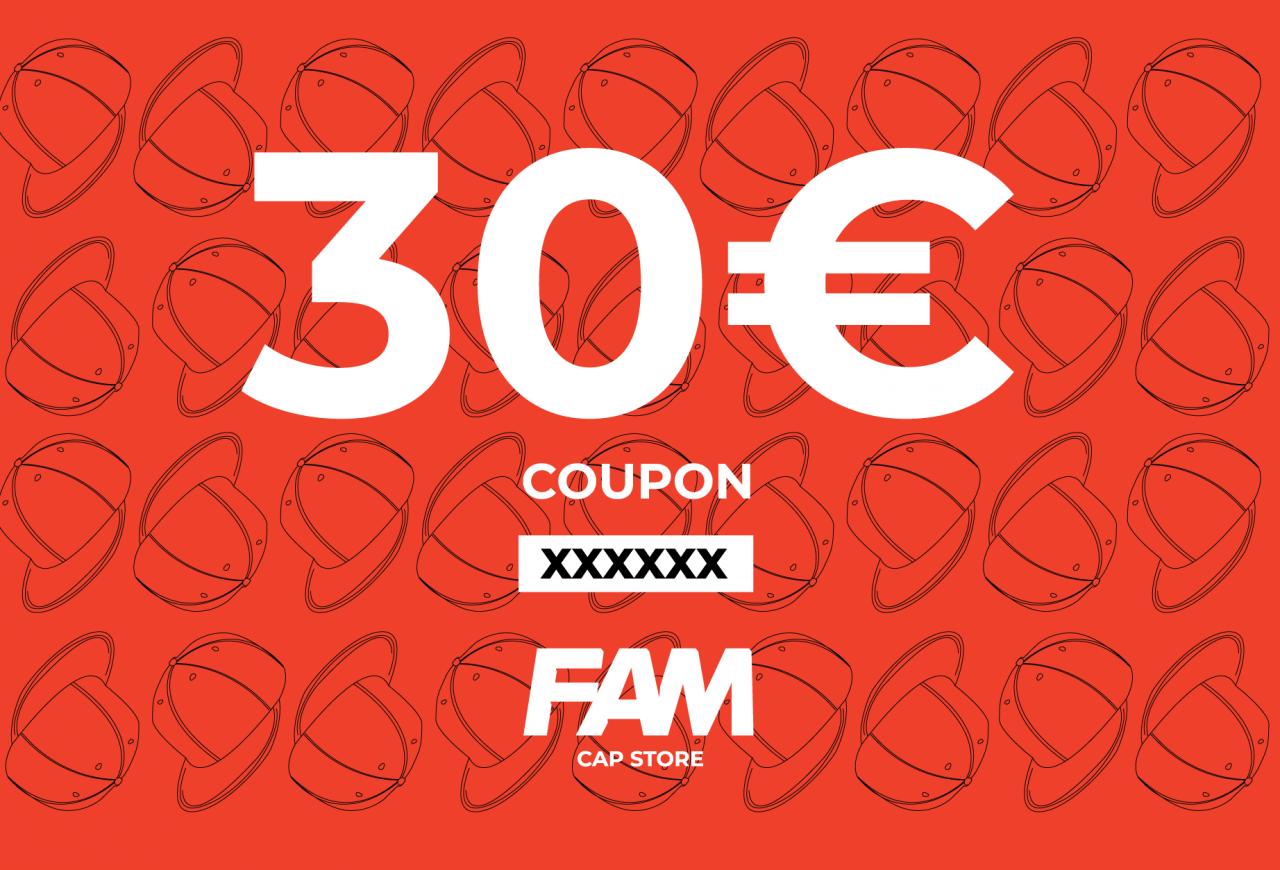 30€ coupon