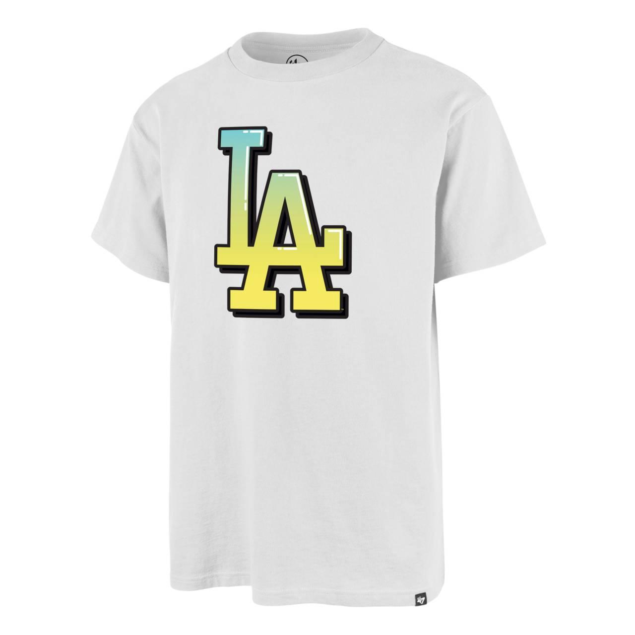 T-SHIRT MLB LOS ANGELES DODGERS LOGO WEISS