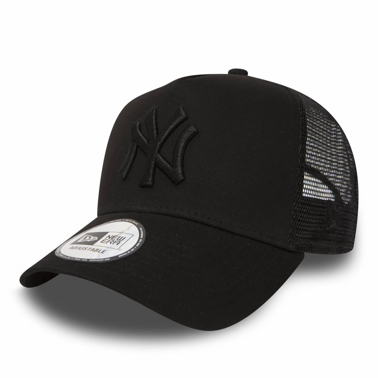 11579474 MLB TRUCKER NEW YORK YANKEES BLACK/BLACK CAP