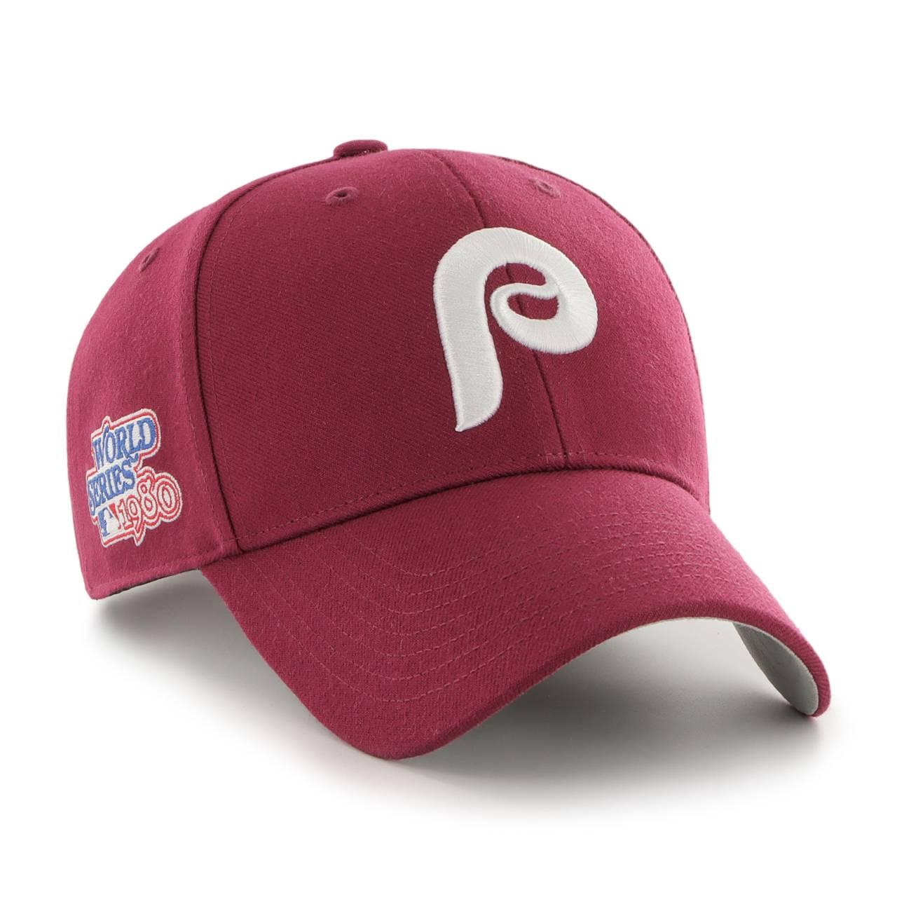MLB PHILADELPHIA PHILLIES SURE SHOT SNAPBACK TT '47 MVP