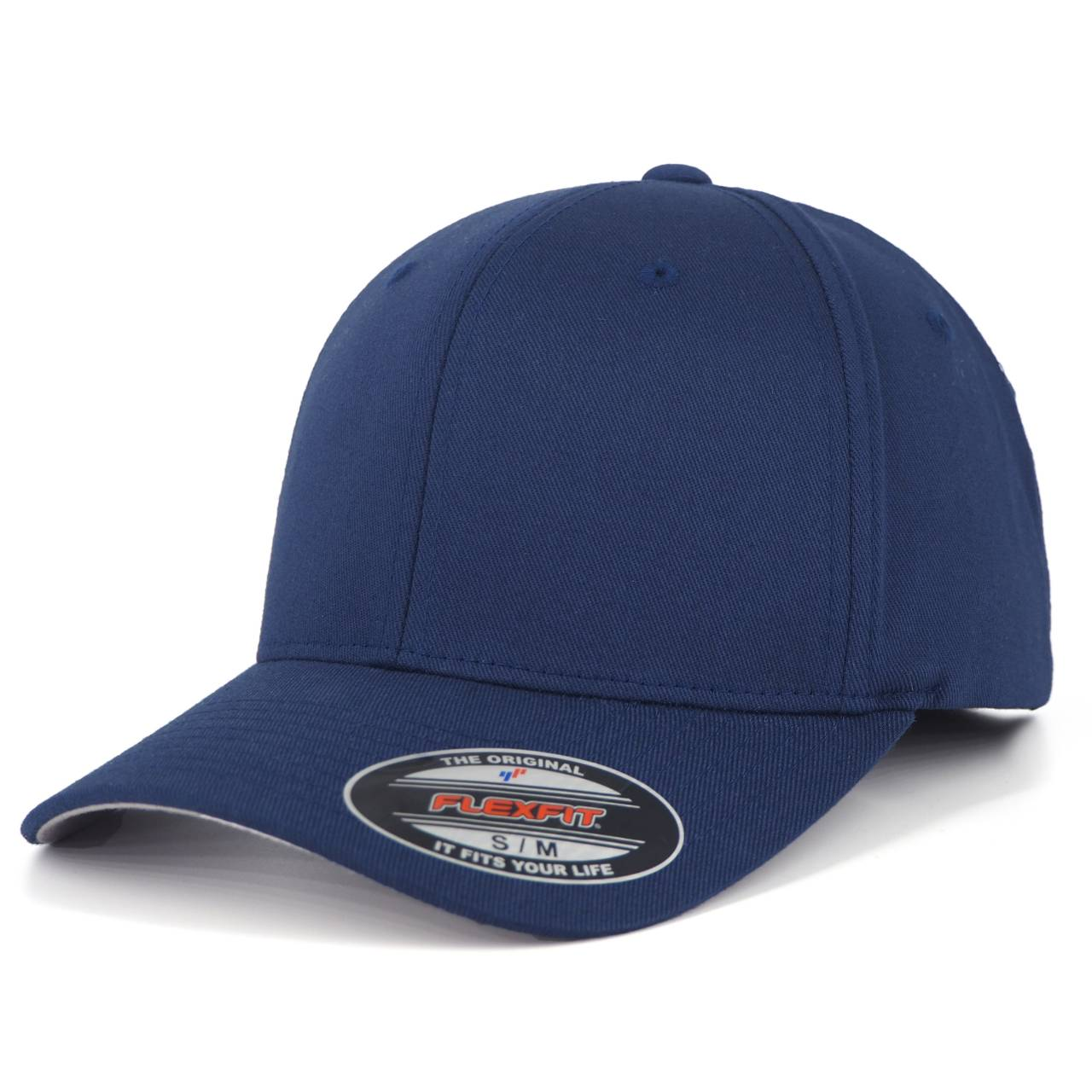 6277-00155-00 FLEXFIT WOOLY COMBED NAVY BLANK CAP