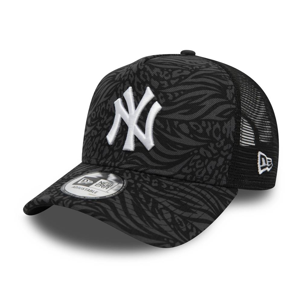 12380779-MLB TRUCKER NEW YORK YANKEES HOOK BLACK/GREY