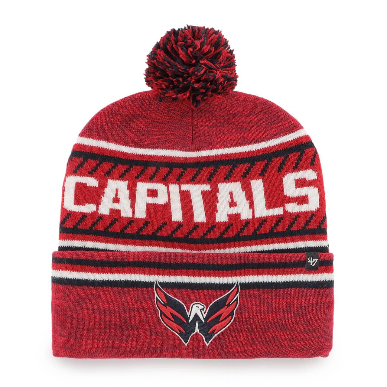 NHL WASHINGTON CAPITALS ICE CAP ´47 BOMMELMÜTZE ROT