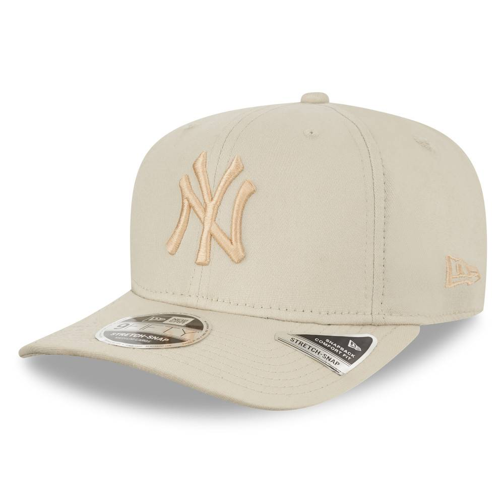12523885 9FIFTY MLB NEW YORK YANKEES STRETCH SNAP STONE/STONE