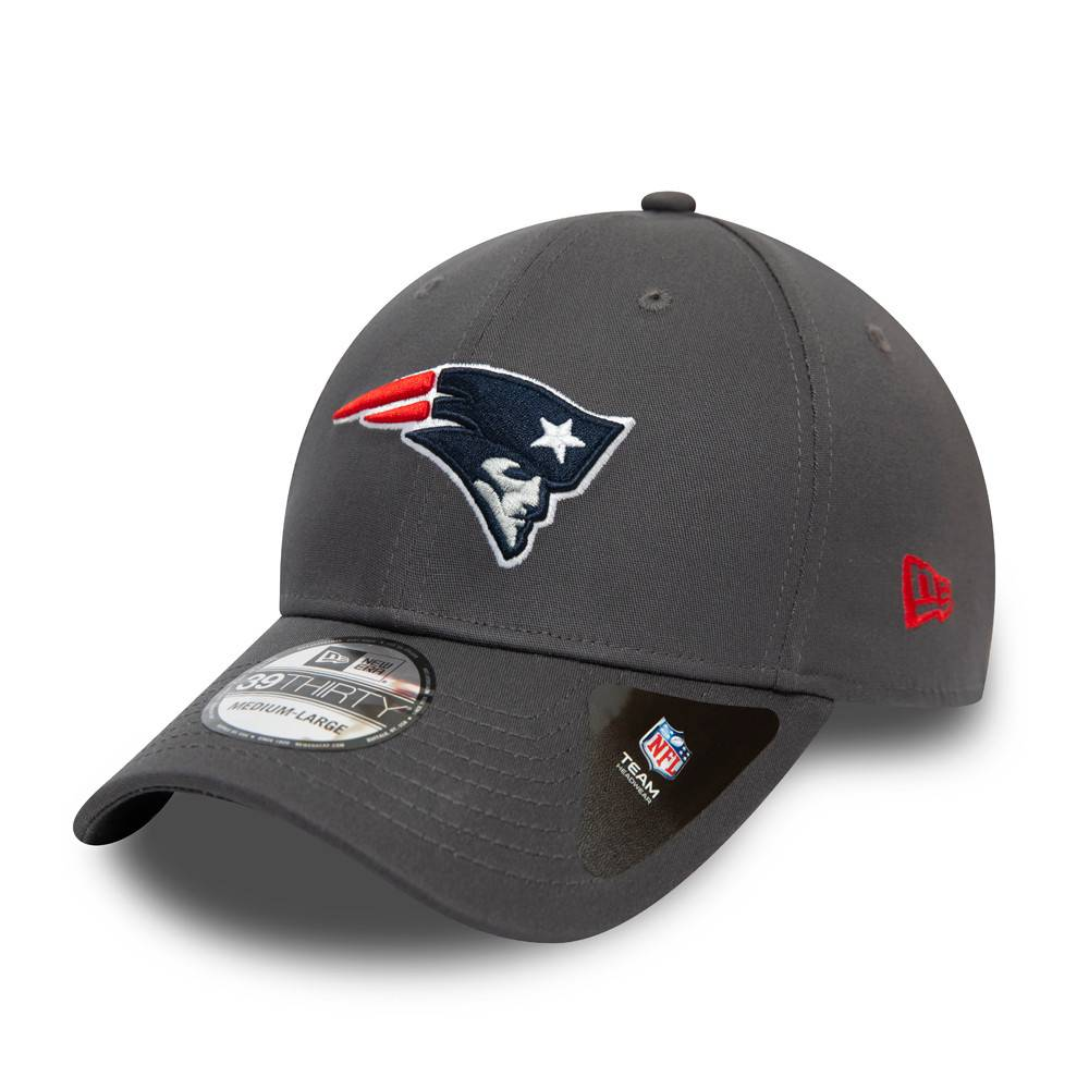 39THIRTY NFL TEAM NEW ENGLAND PATRIOTS GRAPHITE CAP