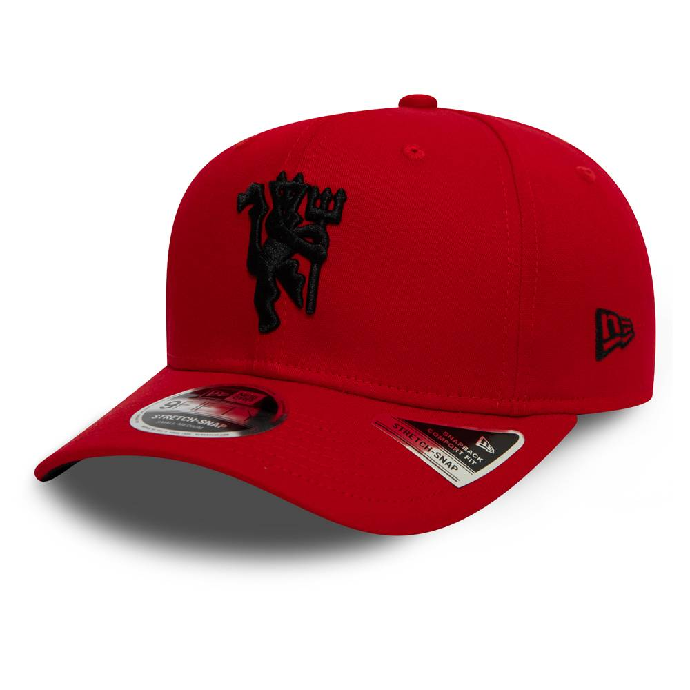 New Era 9FIFTY STRETCH SNAP MANCHESTER UNITED RED CAP