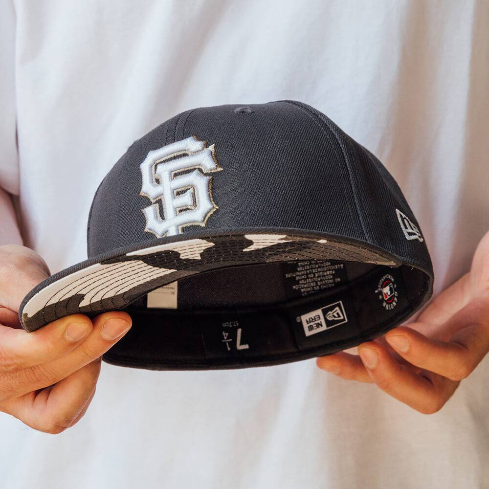LIMITED 59FIFTY MLB SAN FRANCISCO GIANTS GREY / URBAN CAMO UV