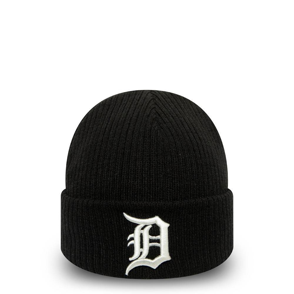 NEW ERA DETROIT TIGERS UTILITY CUFF KNIT BLACK