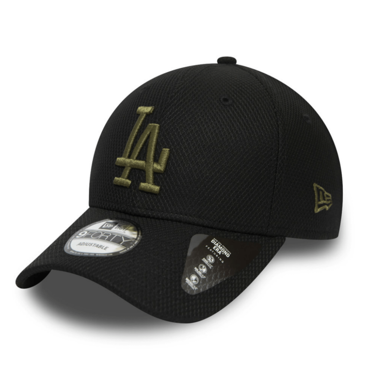 9FORTY DIAMOND ERA LOS ANGELES DODGERS BLACK CAP