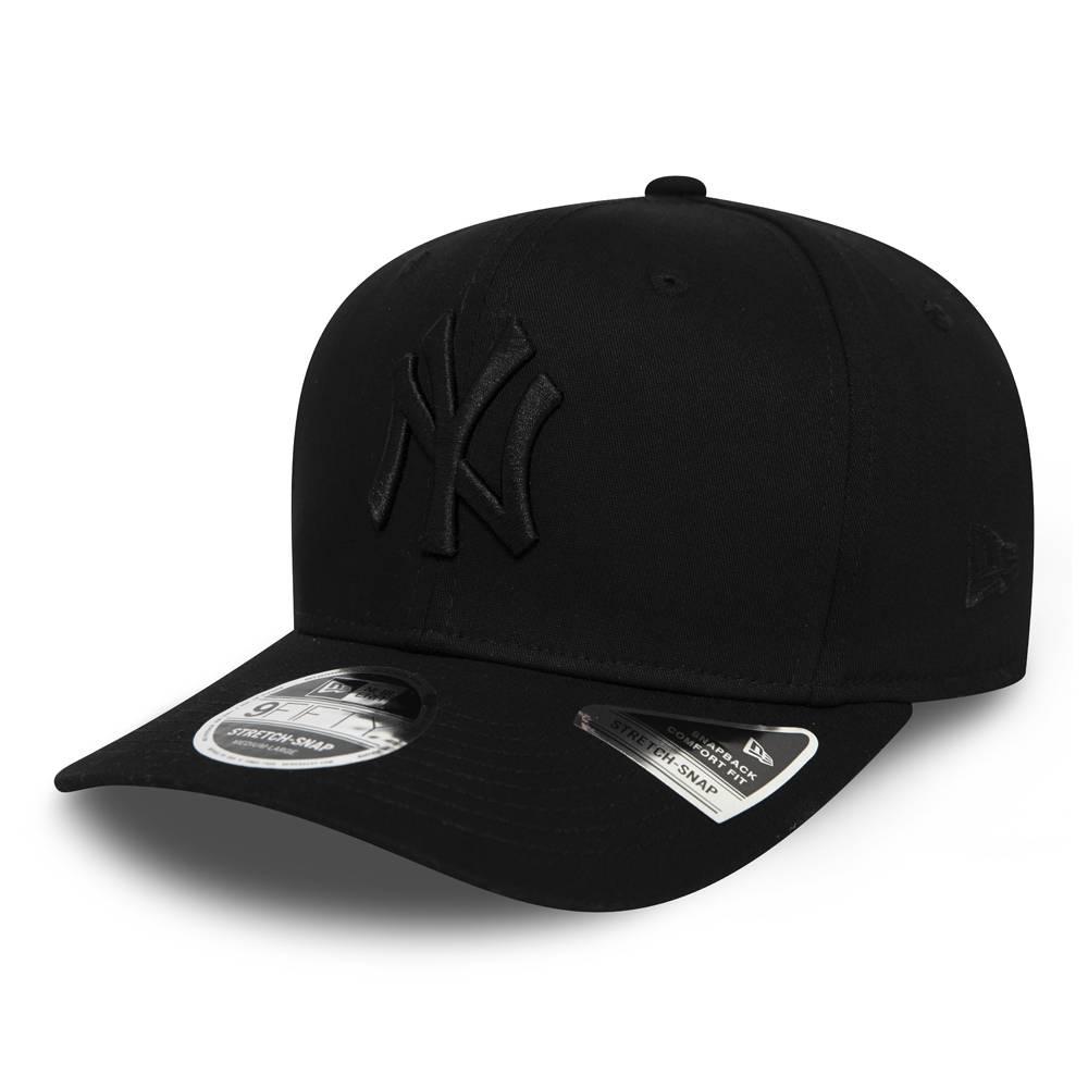 12285240 9FIFTY MLB NEW YORK YANKEES STRETCH SNAP BLACK/BLACK
