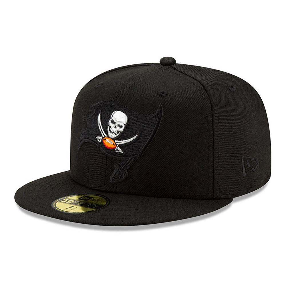 New Era 59FIFTY NFL TAMPA BAT BUCCANEERS LOGO ELEMENTS FITTED CAP
