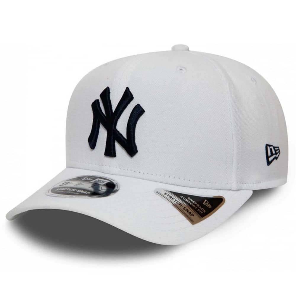 12040168 9FIFTY MLB NEW YORK YANKEES WHITE STRETCH SNAPBACK