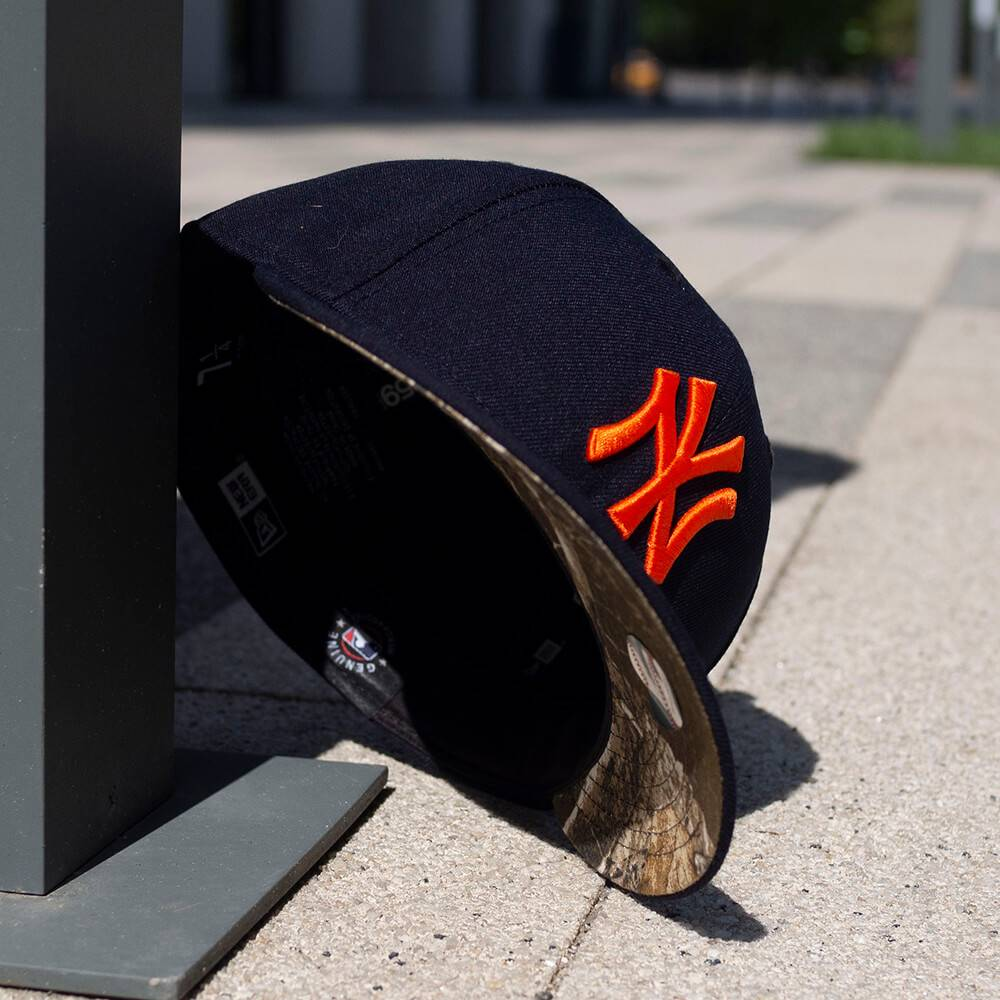 LIMITED 59FIFTY LOW PROFILE MLB NEW YORK YANKEES NAVY/ REAL TREE CAMO UNTERSCHIRM