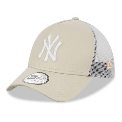 MLB TRUCKER NEW YORK YANKEES STONE/WHITE CAP
