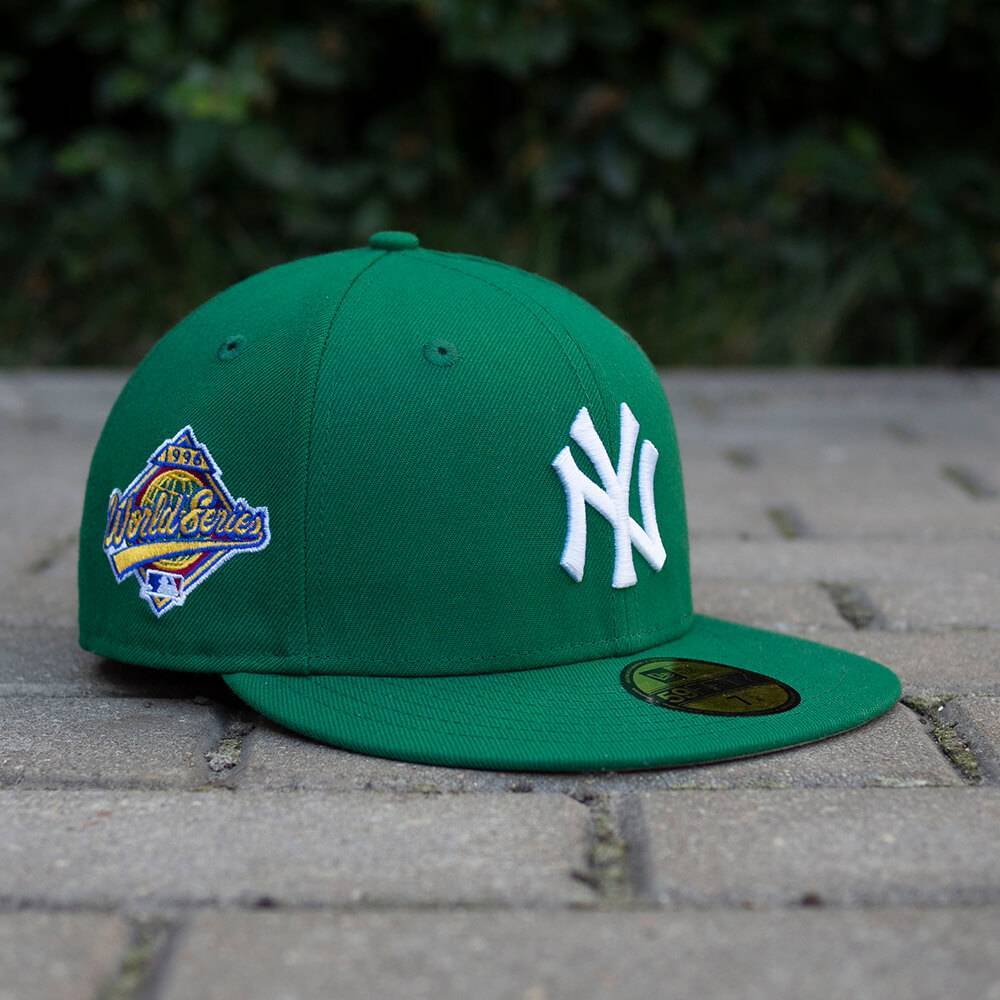 LIMITED 59FIFTY MLB NEW YORK YANKEES WS 1996 KELLY GREEN / GRAU UNTERSCHIRM