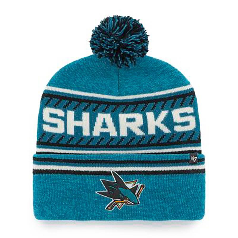 NHL SAN JOSE SHARKS CAP ´47 CUFF KNIT ICE BLUE