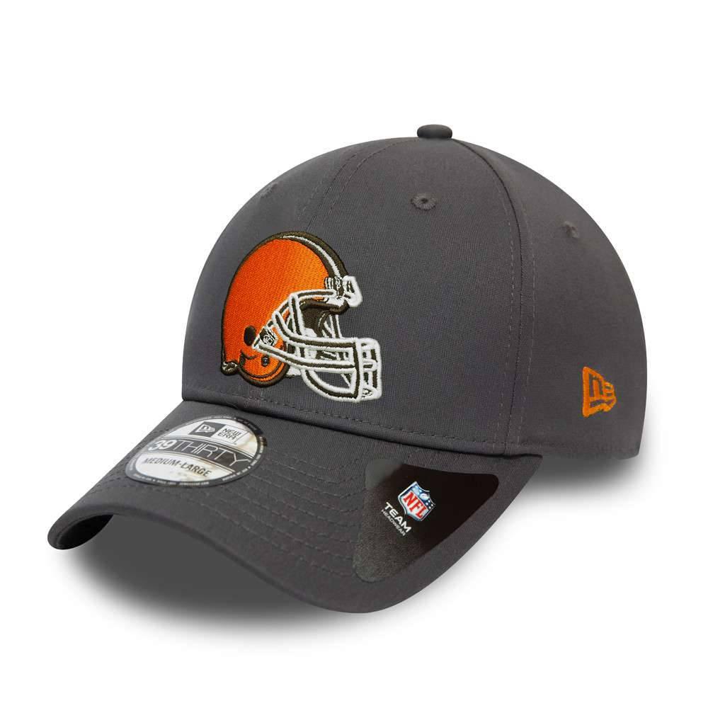 39THIRTY NFL TEAM CLEVELAND BROWNS GRAPHITE CAP