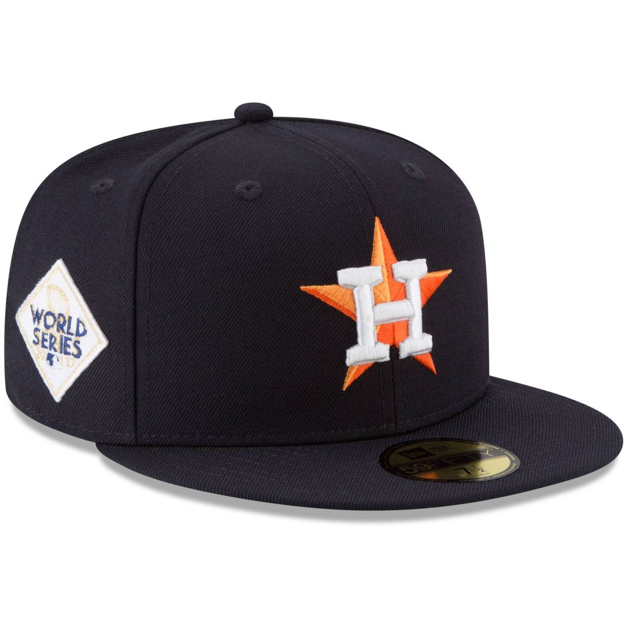 11563950 59FIFTY MLB WS 2017 HOUSTON ASTROS FITTED CAP