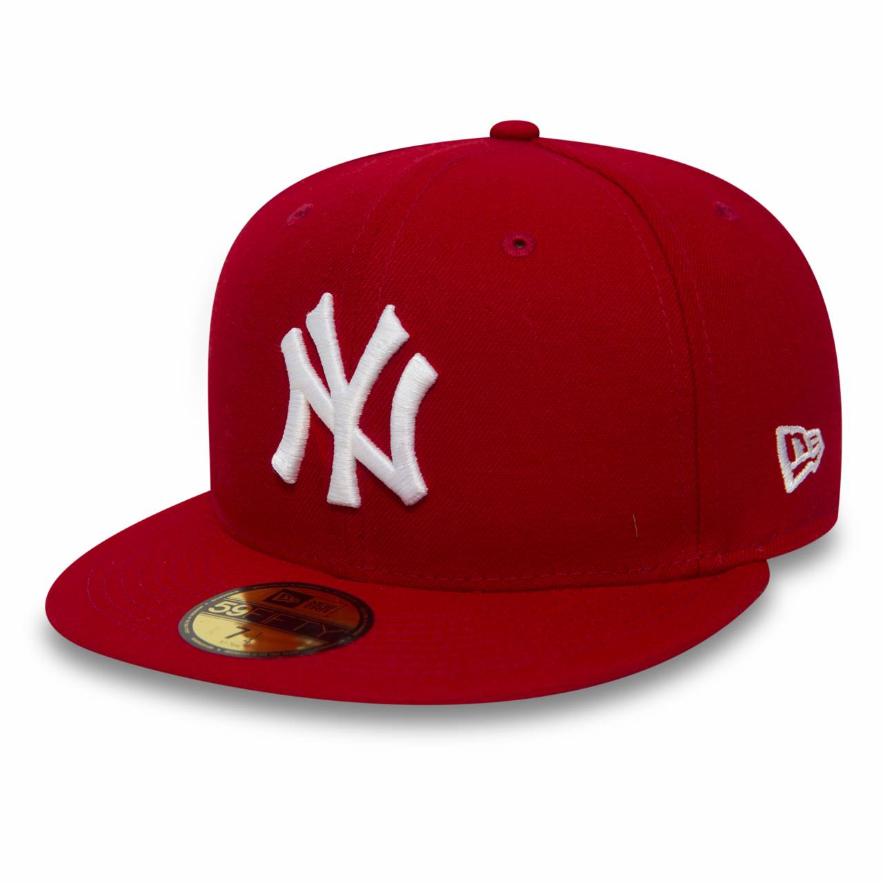 59FIFTY NEW YORK YANKEES RED/WHITE FITTED CAP