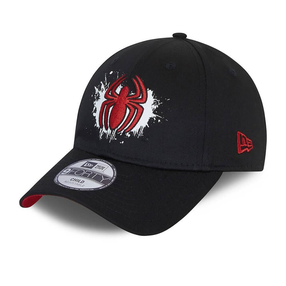 9FORTY KIDS DC SPIDERMAN LOGO BLACK CAP