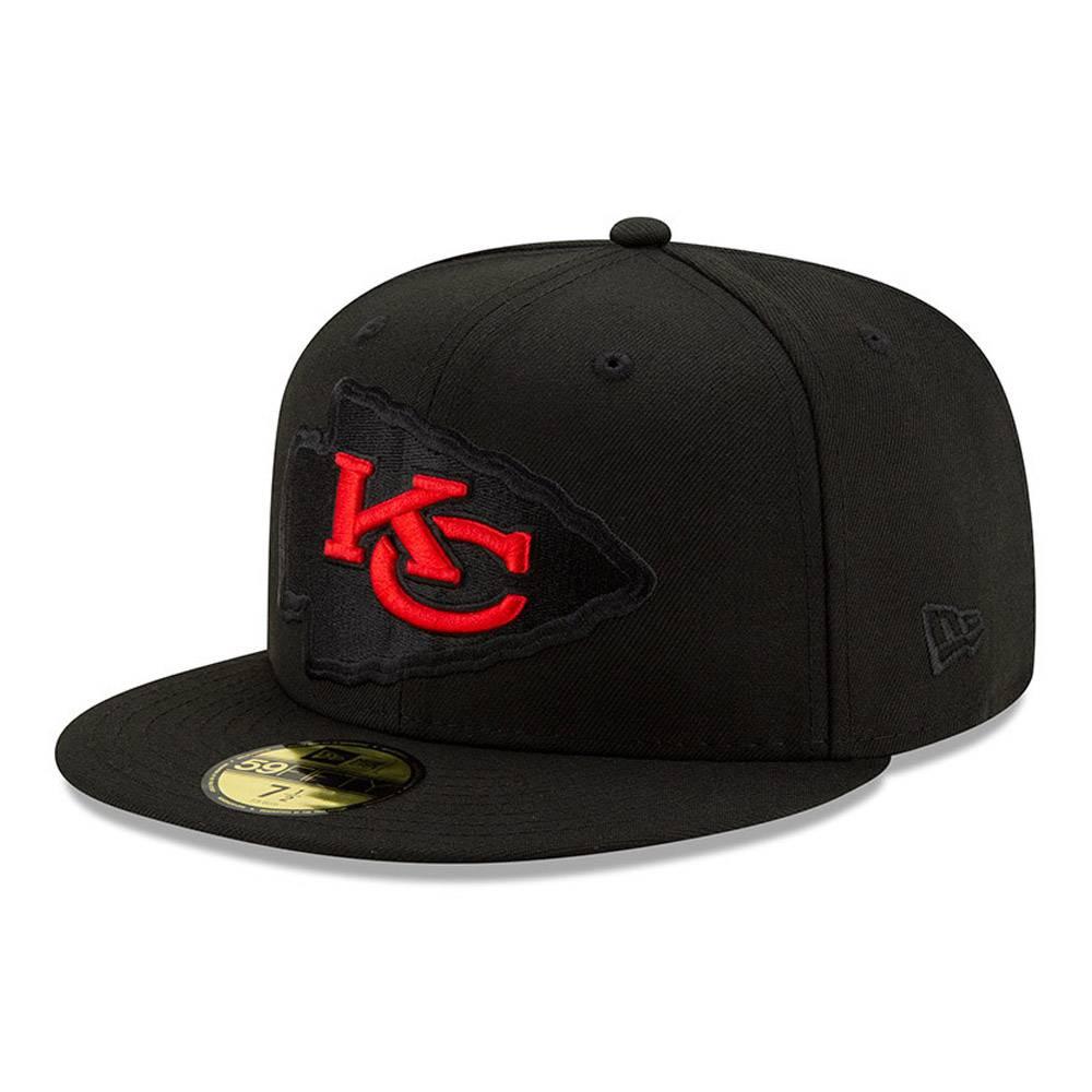 12494574 New Era 59FIfty Kansas City Chiefs NFL Logo Elements fitted cap