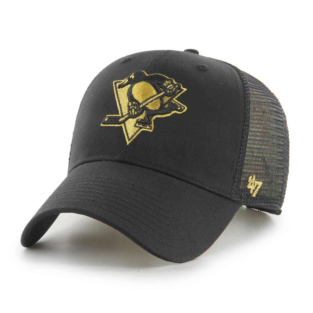 NHL PITTSBURGH PENGUINS BRANSON METALLIC '47 MVP BLACK CAP
