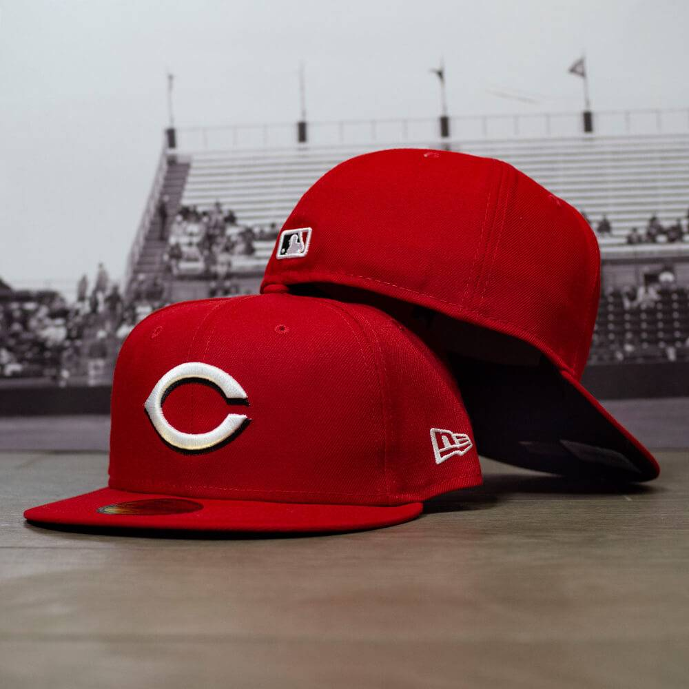 59FIFTY MLB AUTHENTIC CINCINNATI REDS TEAM FITTED CAP