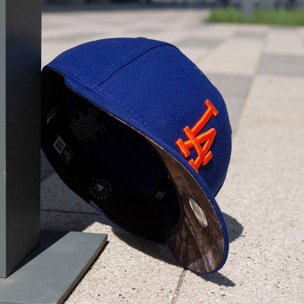 LIMITED 59FIFTY LOW PROFILE MLB LOS ANGELES DODGERS ROYAL/ REAL TREE CAMO UV