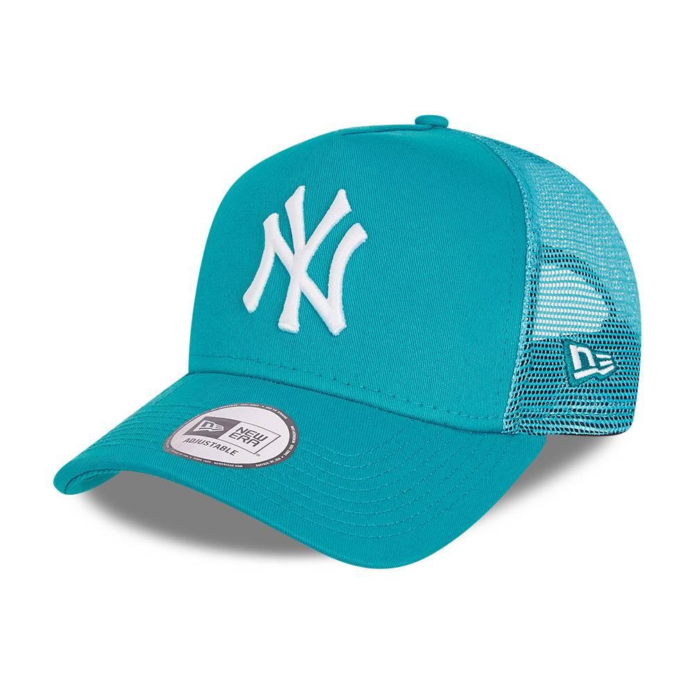 KIDS TRUCKER NEW YORK YANKEES TEAL CAP