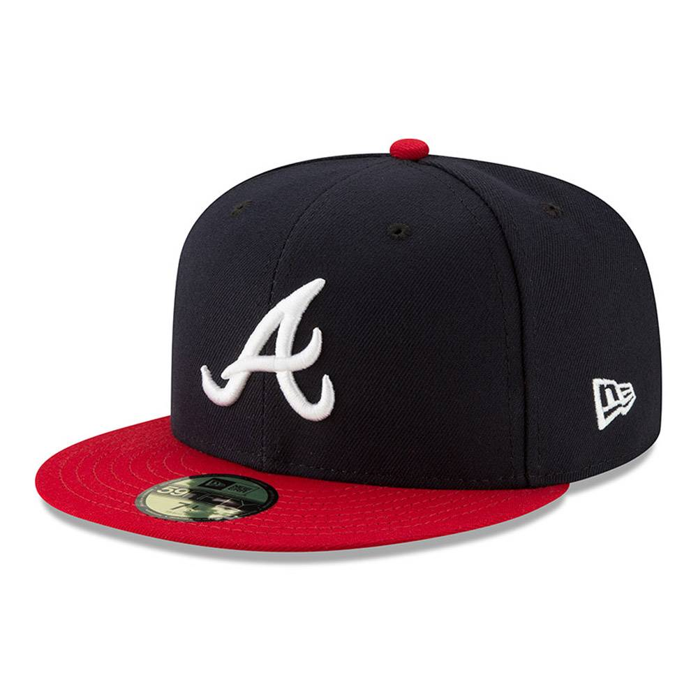 70361069 59FIFTY MLB AUTHENTIC ATLANTA BRAVES TEAM FITTED CAP