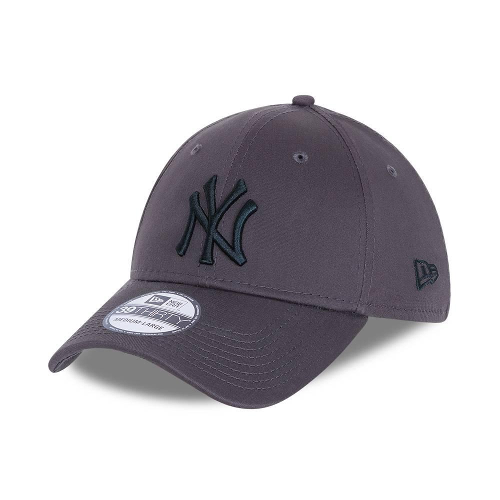 39THIRTY LEAGUE ESSENTIAL NEW YORK YANKEES GREY CAP
