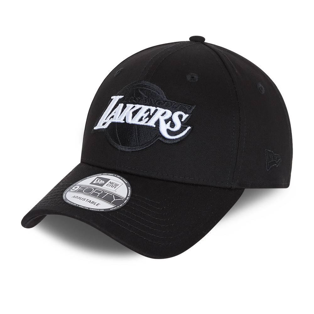 9FORTY NBA LOS ANGELES LAKERS BLACK BASE SNAPBACK
