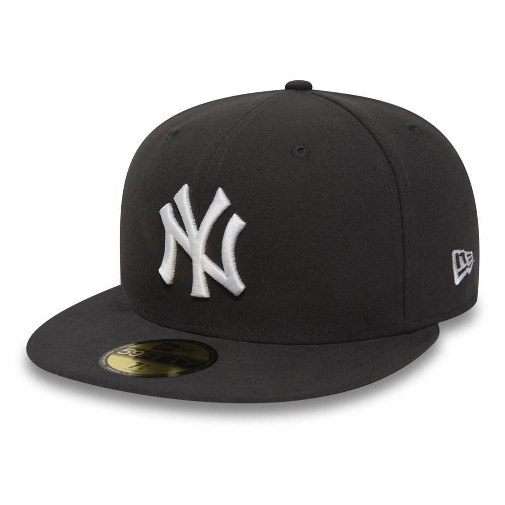 10010761 NEW ERA 59FIFTY MLB NEW YORK YANKEES ESSENTIAL DARK GREY