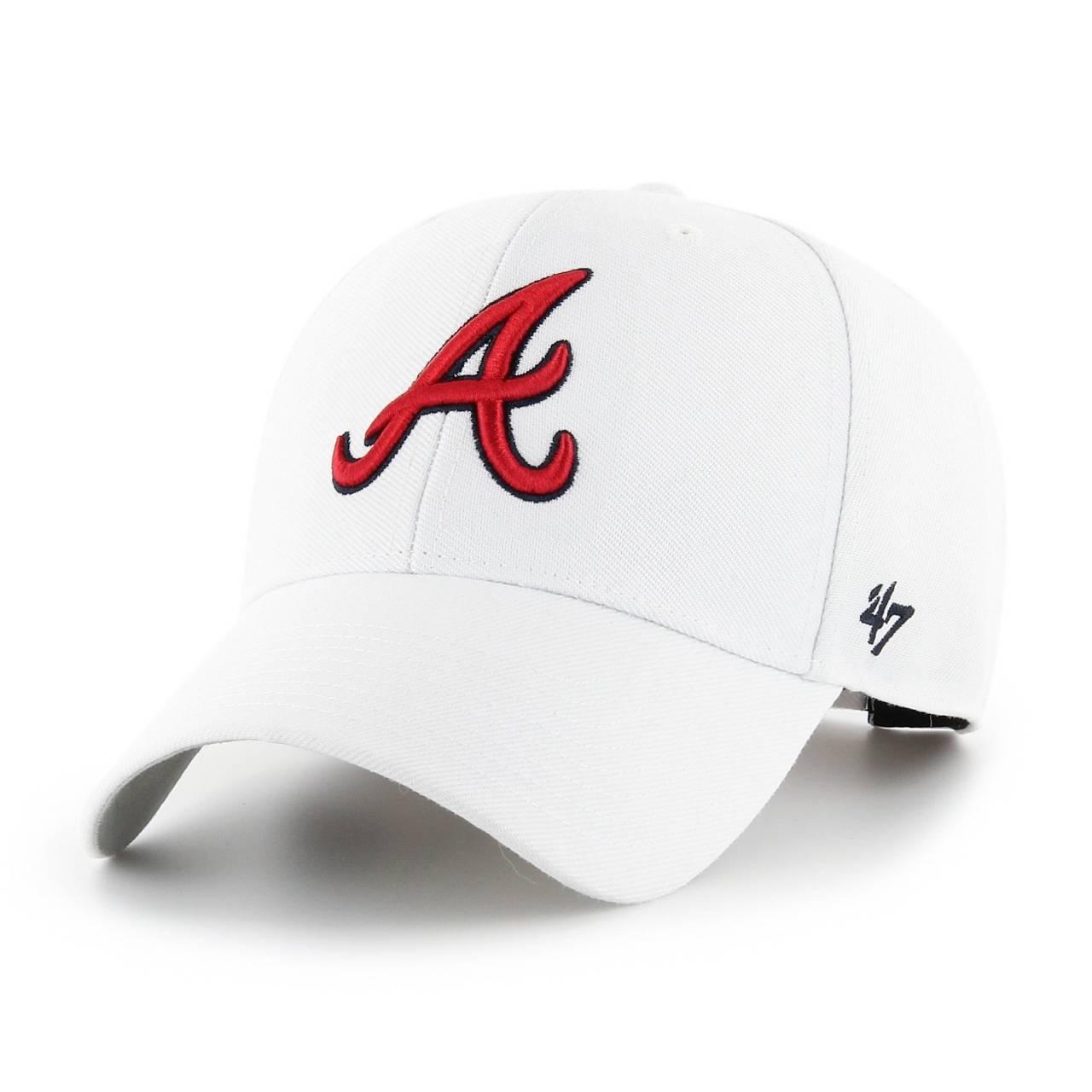 MLB ATLANTA BRAVES '47 MVP CAP WHITE