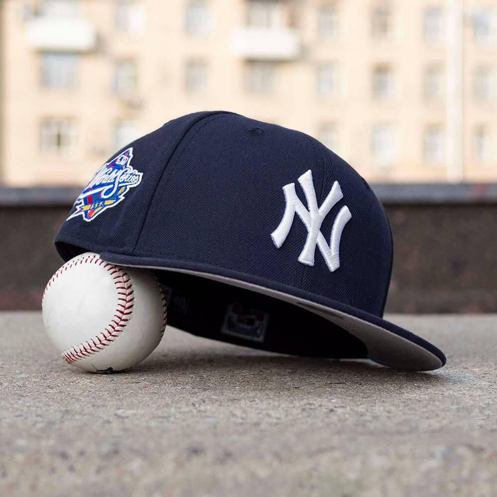 LIMITED 59FIFTY MLB NEW YORK YANKEES WS 1998 NAVY / GREY UV