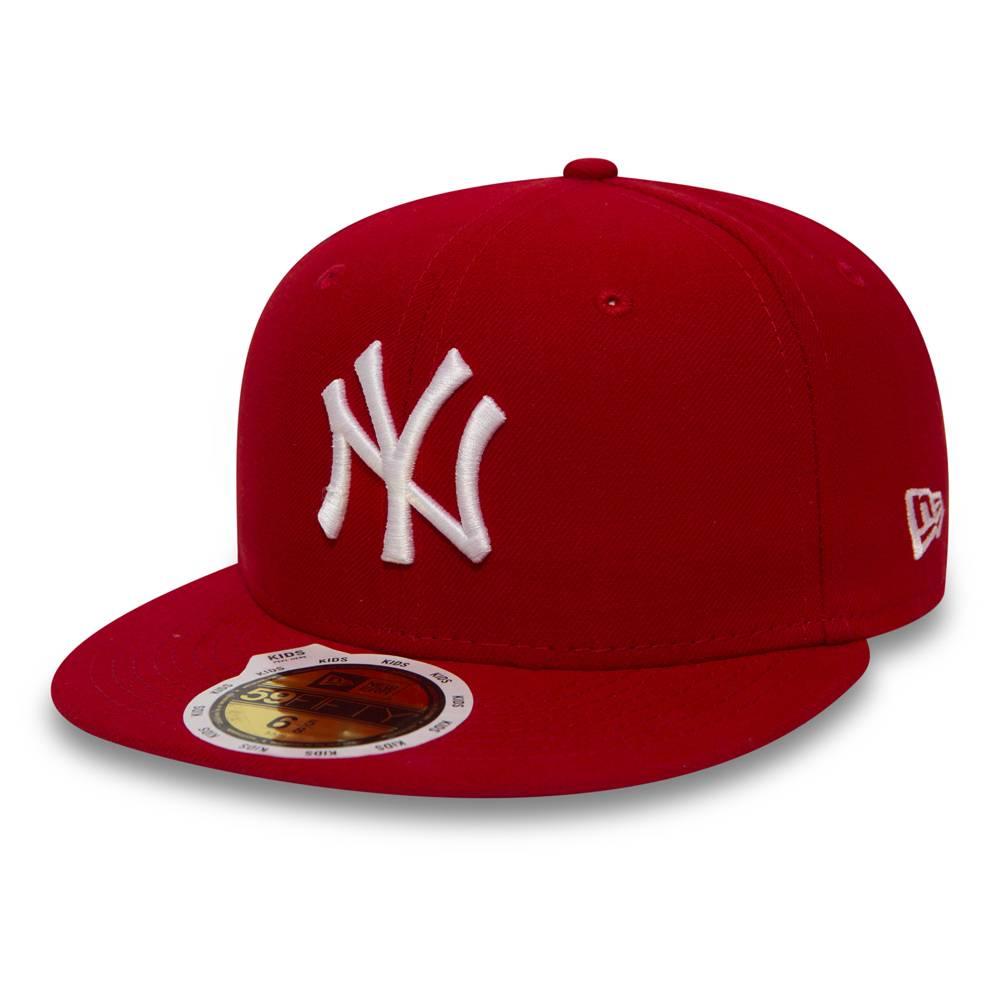 10879077 KIDS 59FIFTY MLB NEW YORK YANKEES RED CAP