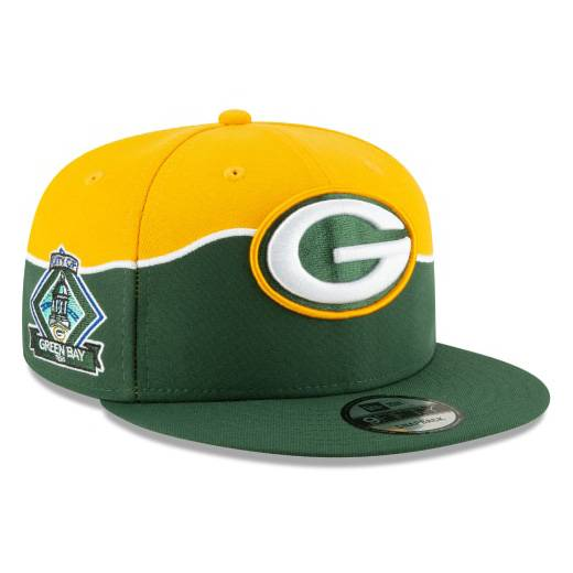 12023829 9FIFTY NFL DRAFT GREEN BAY PACKERS SNAPBACK