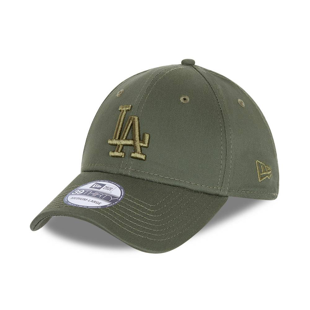 39THIRTY LEAGUE ESSENTIAL LOS ANGELES DODGERS OLIVE CAP