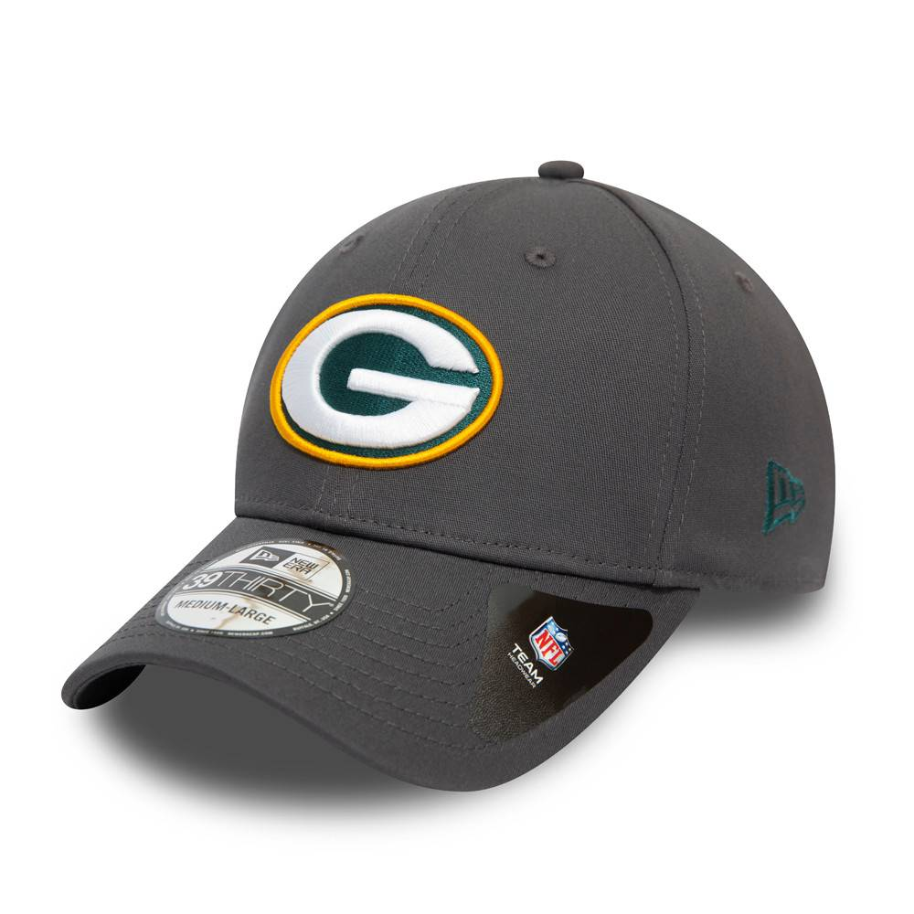 39THIRTY NFL TEAM GREEN BAY PACKERS GRAPHITE CAP