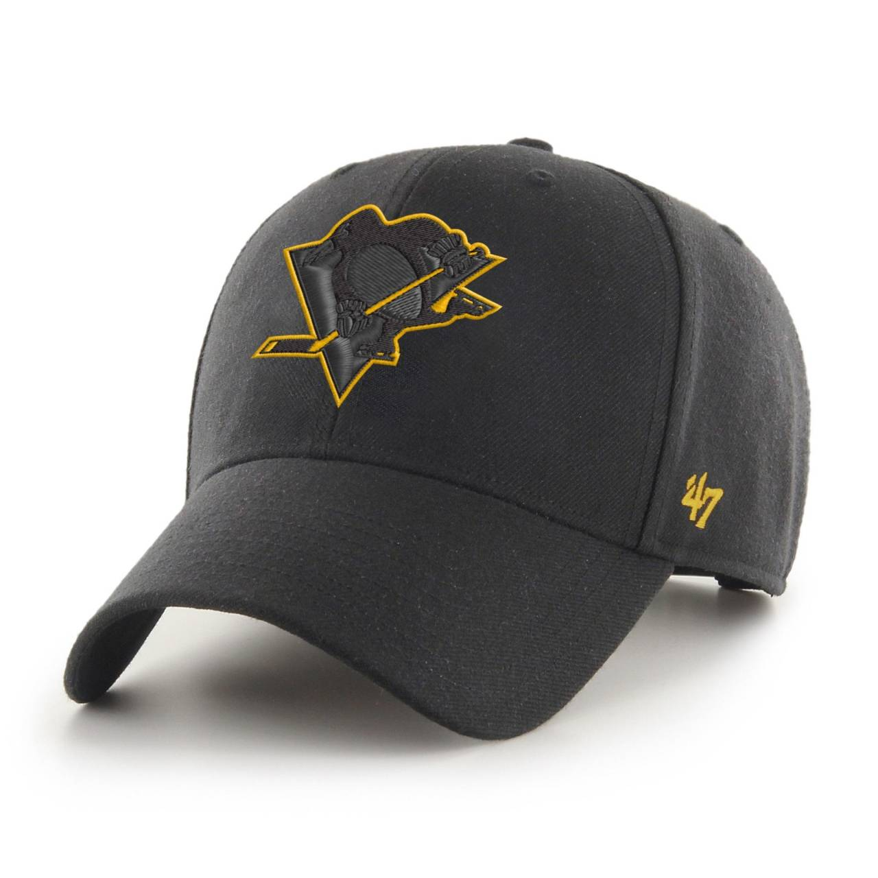 NHL PITTSBURGH PENGUINS '47 MVP BLACK SNAPBACK