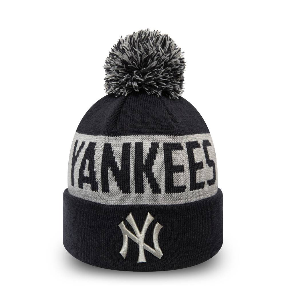 KIDS NEW ERA NEW YORK YANKEES TEAM TONAL BOBBLE CUFF KNIT