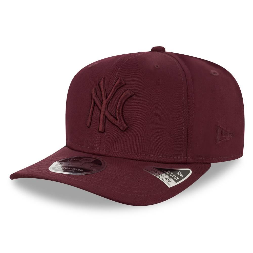 12523886 9FIFTY MLB NEW YORK YANKEES STRETCH SNAP MAROON CAP