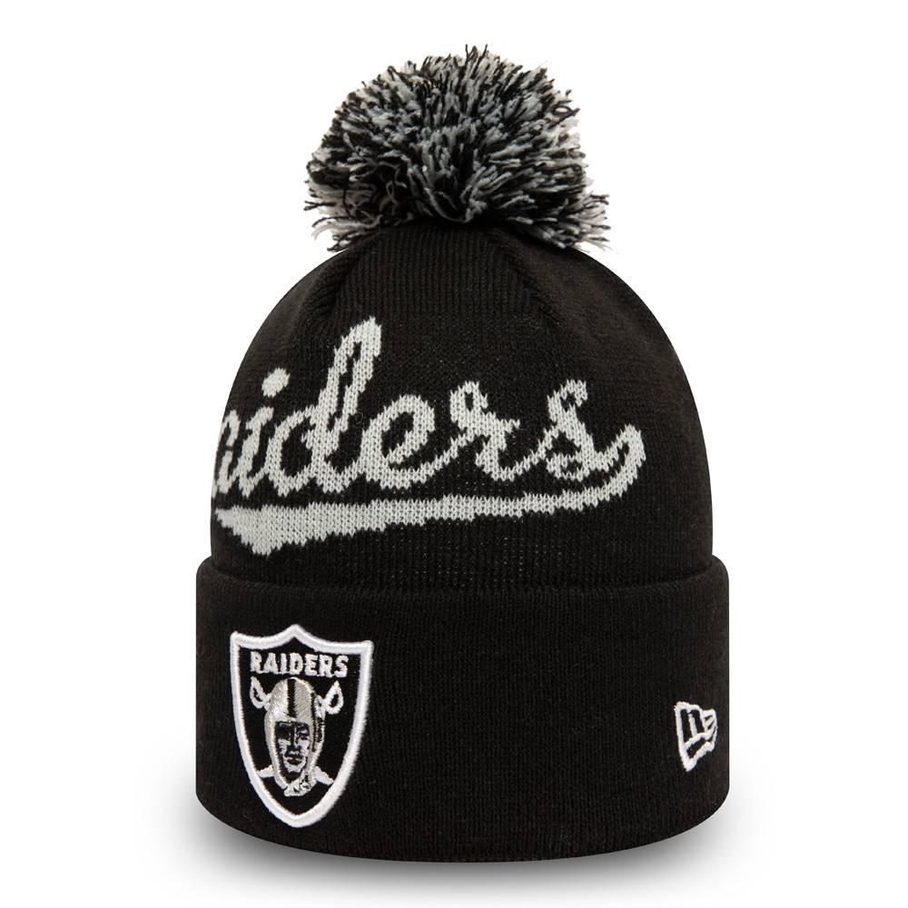 11082231-new-era-las-vegas-raiders-pom-black-knit