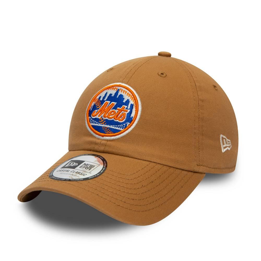 CASUAL CLASSIC MLB NEW YORK METS PANAMA TAN CAP