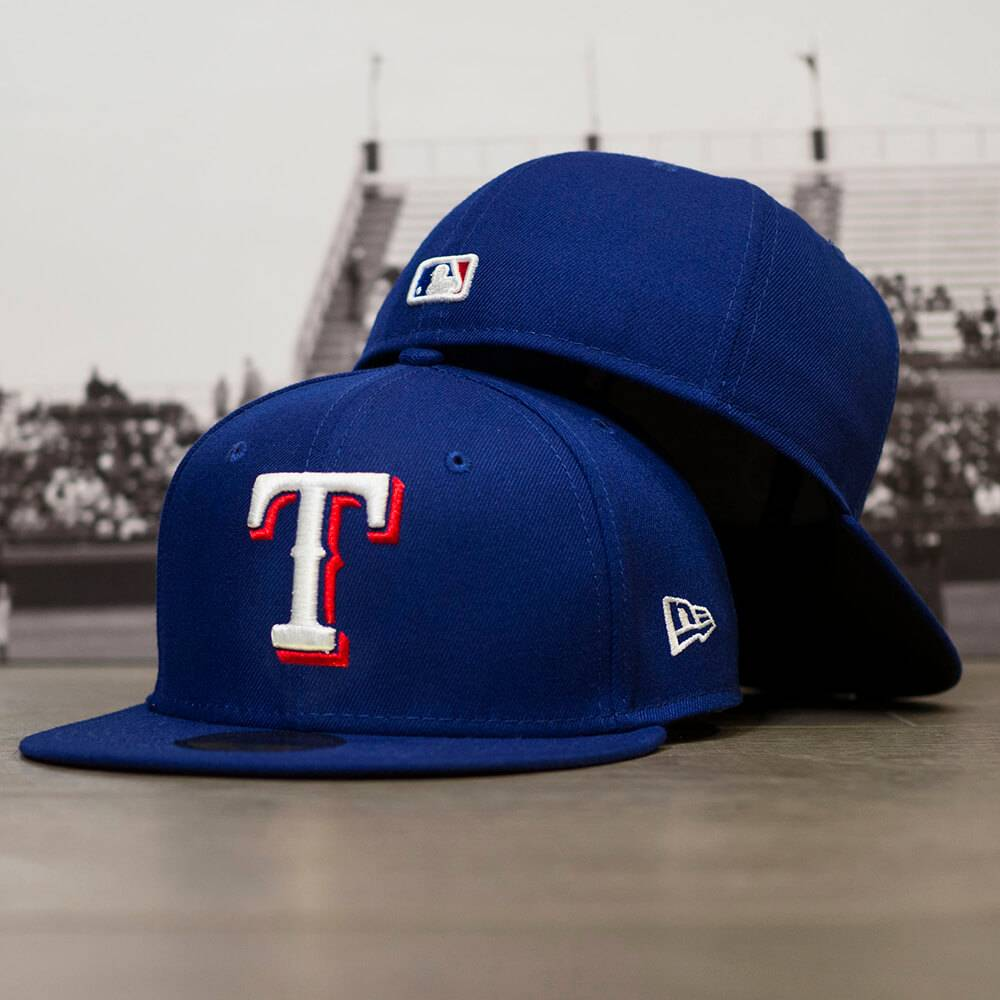 59FIFTY MLB AUTHENTIC TEXAS RANGERS TEAM FITTED CAP