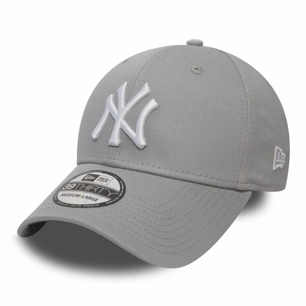 10298279 39THIRTY NEW YORK YANKEES STRETCH GREY/WHITE CAP