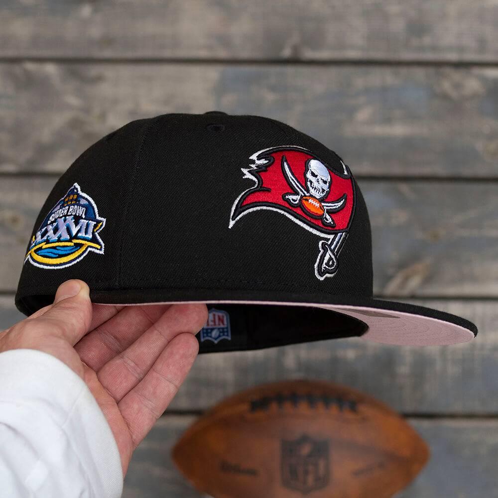 LIMITED 59FIFTY NFL TAMPA BAY BUCCANEERS SB XXXVII BLACK/PINK UV