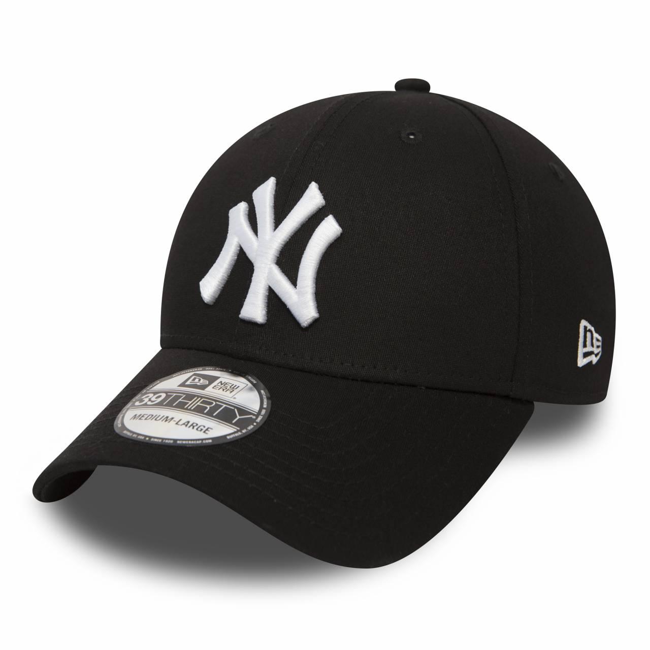 10145638 39THIRTY NEW YORK YANKEES STRETCH BLACK/WHITE CAP
