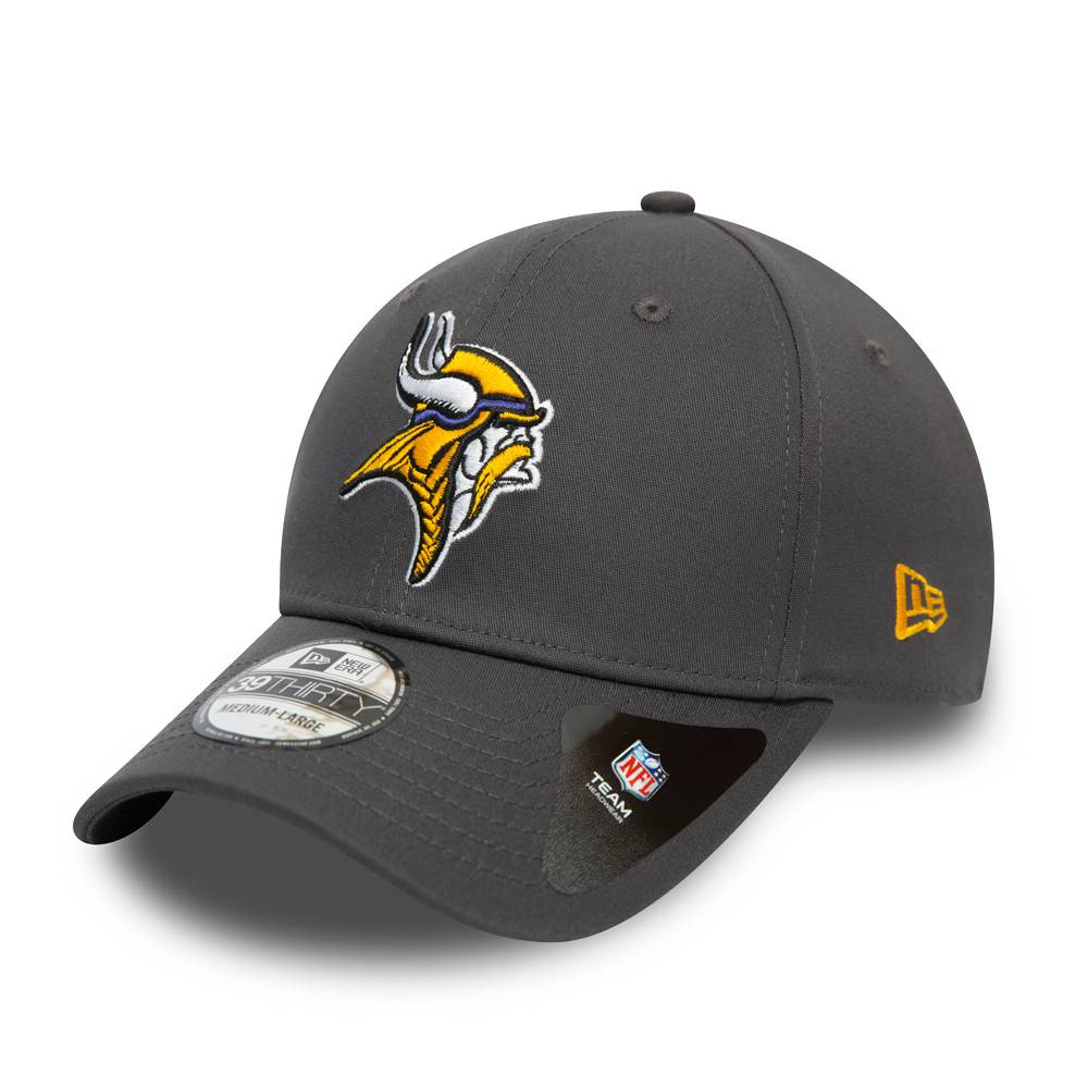 39THIRTY NFL TEAM MINNESOTA VIKINS GRAPHITE CAP